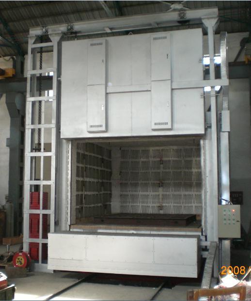 全纤维台车炉
