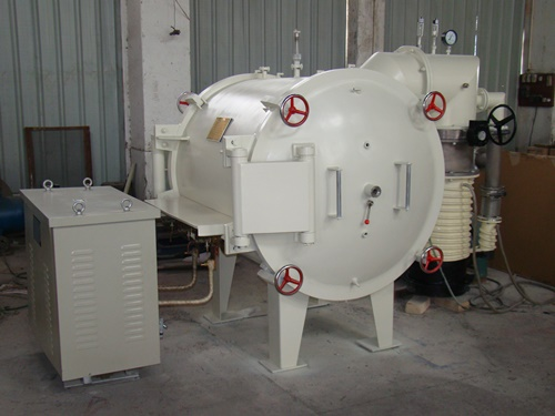 卧式真空碳棒炉