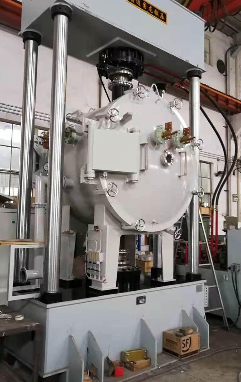 上海汇众电炉有限公司:300T真空热压烧结炉