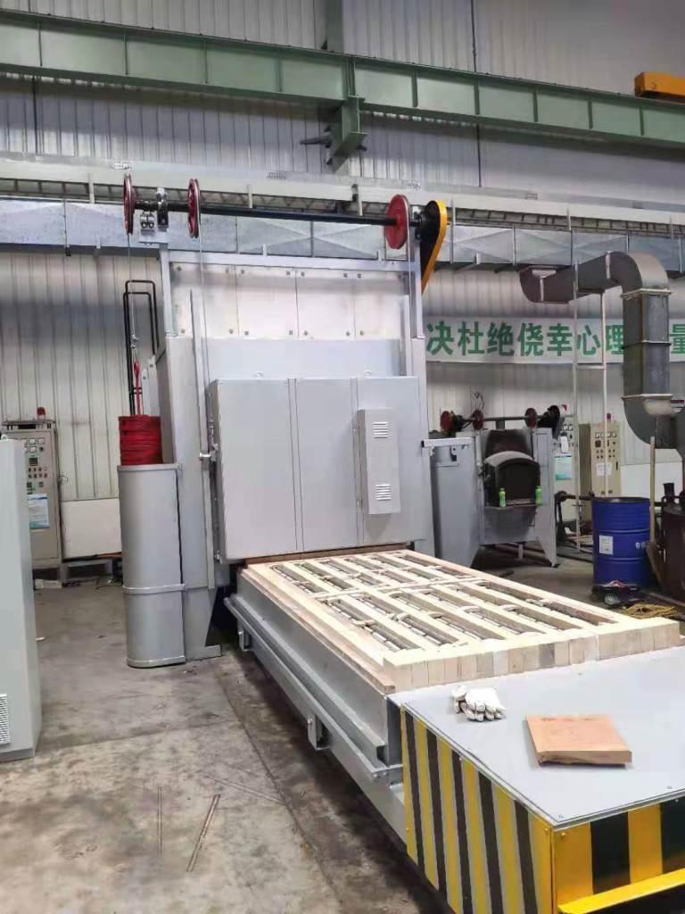 上海汇众电炉:高温台车炉