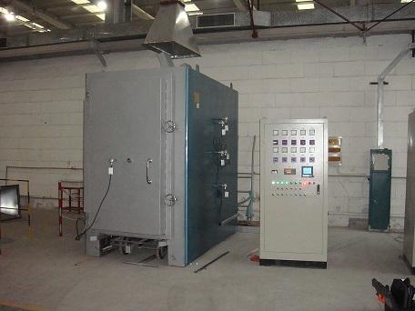 1300度高温台车炉